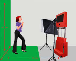 portable photo booth eco friendly portable green screen 3d kiosk photo booth for your