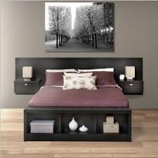 Storage Bed With Headboard Platform Bed I Need All The Storage I Can Get Bedrooms