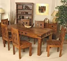 indian wood dining table great white appliance kitchen sets design ideas regarding wooden