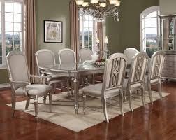 Regency Park Rectangular Dining Room Set In Platinum By Avalon - Regency dining room