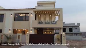 Designer Homes For Sale by 10 Marla Designer Model House For Sale Sector A Bahria Enclave