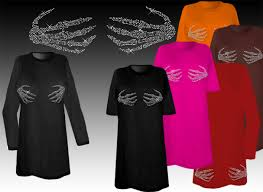 Halloween Shirt Costumes Sale Sparkly Rhinestud Rhinestone Skeleton Hands Halloween