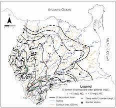 Isoline Map Water Free Full Text Estimating Natural Recharge By Means Of