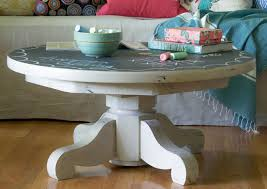 coffee table antique tiger oak round pedestal coffee table 42