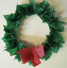 tissue paper christmas craft find craft ideas