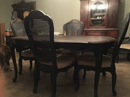 french provincial dining table with 6 chairs alternatively yours