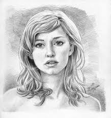 pretty face drawing archives pencil drawing collection