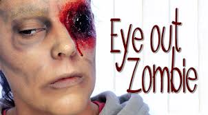 zombie with no eye halloween makeup tutorial silvia quiros youtube