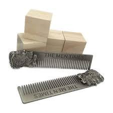 carding comb online shop 10 pcs lot beard stainless steel comb men s beard