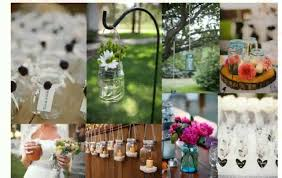jar wedding wedding table decorations jars