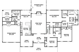 4 bedroom single story house plans single story 5 bedroom house plans recyclenebraska org