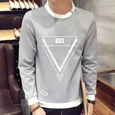 triangles sweatshirt deal man