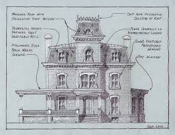 second empire house plans wouldn t live in a haunted house how about just a haunting one