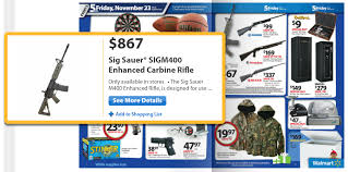 best black friday sig sauer deals 2016 walmart puts an ar15 deal in their black friday ad gunmart blog