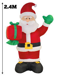 Large Inflatable Christmas Decorations by 8ft Giant Inflatable Christmas Decoration Outdoor Snowman Santa