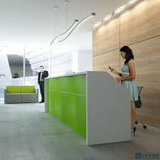 Counter Reception Desk Wave Counter Reception Desk By Mdd Luxemoderndesign
