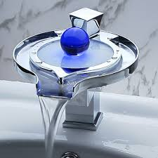 Waterfall Faucet Bathroom Designer Faucets Bathroom Prepossessing Ideas Bfacaacd Waterfall