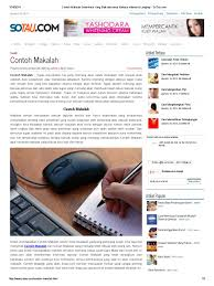 format penulisan makalah sederhana contoh makalah sederhana yang baik dan benar bahasa indonesia lengkap