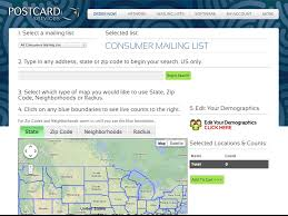 Zip Code Radius Map by Strouse Consulting Providing Logical Solutions For Working Smarter