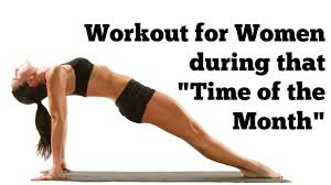 workout for during that time of the month 17 minute