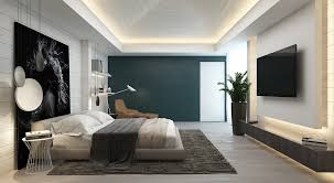 bedroom design wood focal wall feature wall colours green accent