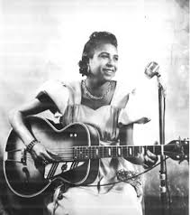 Blind Blues Guitar Player Memphis Minnie Female Blues Singer And Gifted Guitarist Who Held