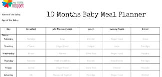 table food ideas for 9 month old baby food planner ivedi preceptiv co