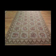 Area Rugs 5 X 8 French Aubusson Design Needlepoint Oriental Area Rug 5 X 8 Jkc 128