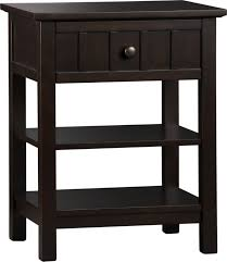 Brighton Coffee Nightstand Crate And Barrel Home Design - Crate and barrel black bedroom furniture