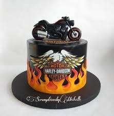 harley cake topper motorbike cake topper 23 cakes cakesdecor