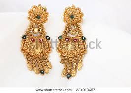 earrings models gold earrings stock images royalty free images vectors