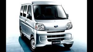 subaru libero camper subaru sambar transporter van u002704 2012 youtube