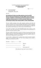 tender cover letter sample cover letter for tender proposal
