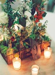 Photo Wedding Centerpieces by 28 Best Wire Basket Centerpieces Images On Pinterest Flowers