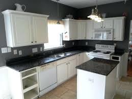 White Cabinets Granite Countertops Kitchen White Cabinets With Granite White Kitchen With Cabinets White