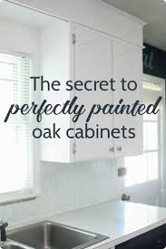 Putting Trim On Cabinets by Best 25 Painting Oak Cabinets Ideas On Pinterest Oak Cabinets