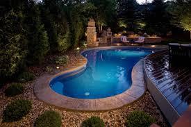 Backyard Swimming Pool Designs Backyard Pool Designs With Well Backyard Swimming Pool Design And