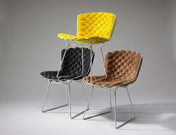 clément brazille reinvents the iconic bertoia chair with