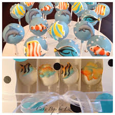 tropcial fish cake pops inside cake pop inserts cake pop inserts