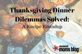 thanksgiving recipe dilemmas solved