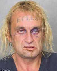 criminals with america u0027s most shocking face tattoos daily mail