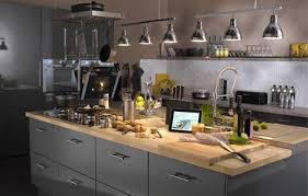 prise pour ilot central cuisine bien concevoir îlot de cuisine leroy merlin