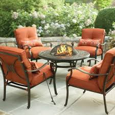 Firepit Set by Patio Furniture With Fire Pit Design Ideas And Decor