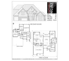 Two Floor House Plans by Story House Plan C8111