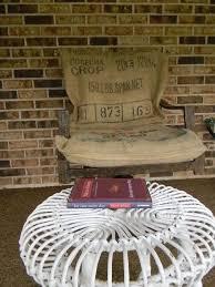 no sew burlap sack cushion covers hometalk