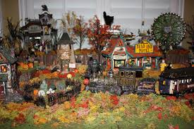 wordless wednesday halloween village love laughter and a