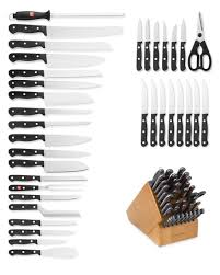 wusthof kitchen knives wüsthof gourmet 36 knife block set williams sonoma