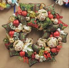 22 truly vintage antique glass ornament wreath glass