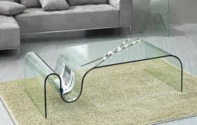 all glass coffee table luxurius all glass modern coffee table also interior home