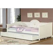 Wood Daybed Frame White Wooden Daybed U2013 Equallegal Co